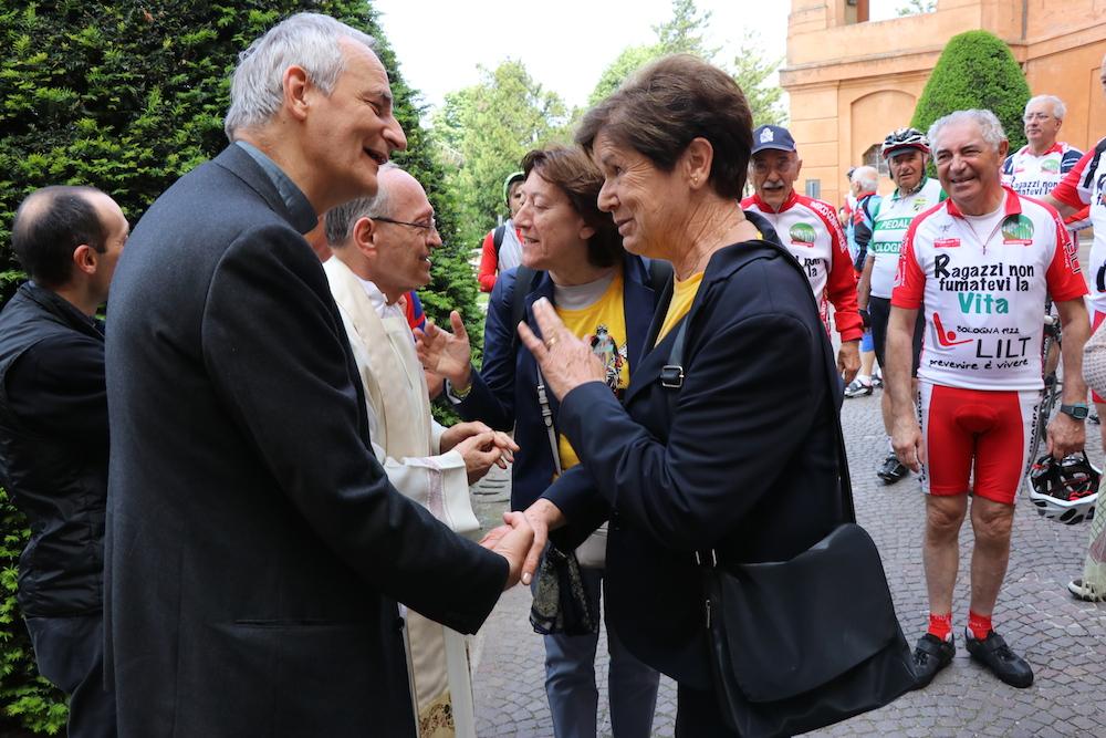 Mons. Zuppi e Brunetta
