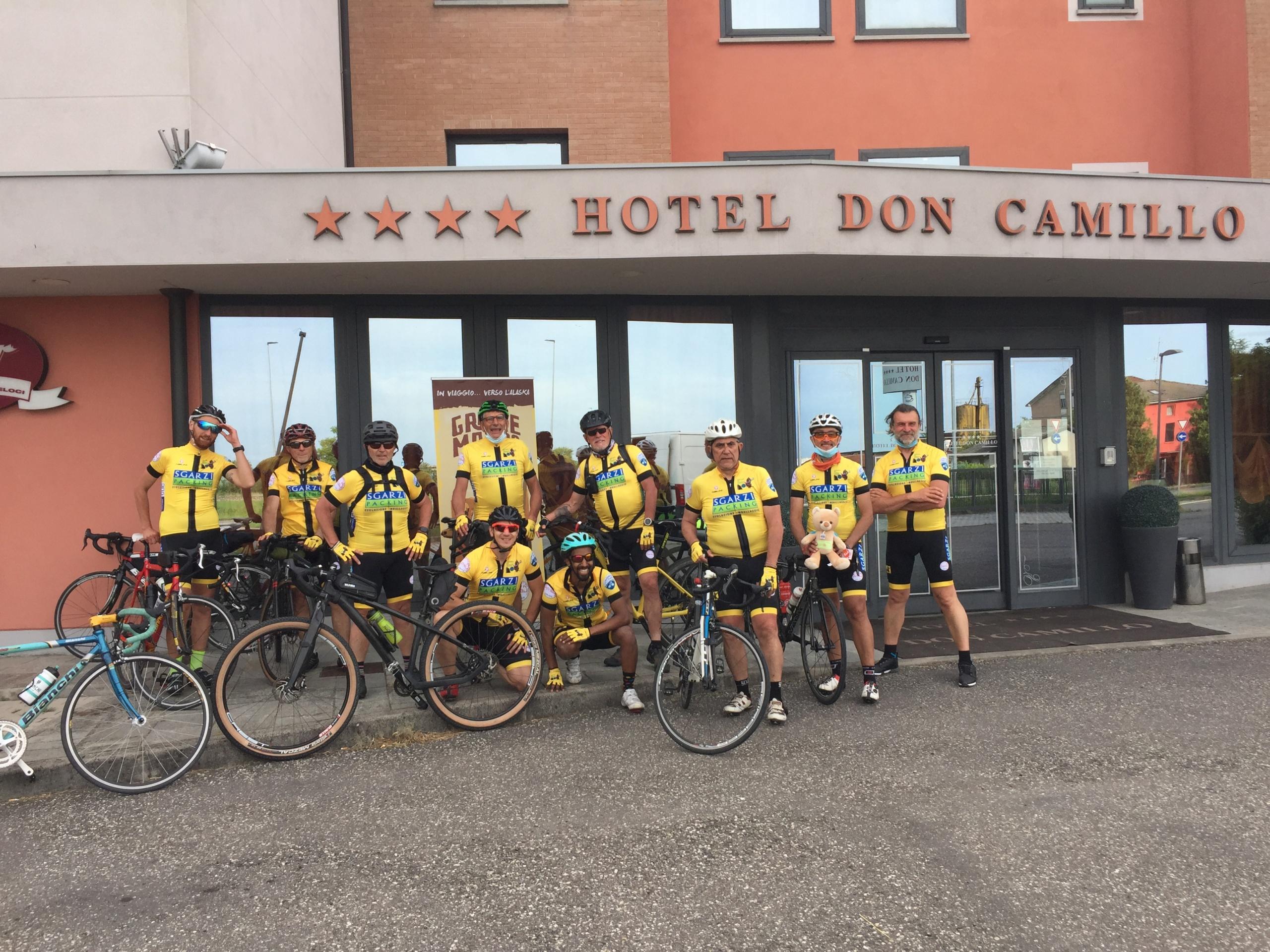 Brescello, hotel Don Camillo