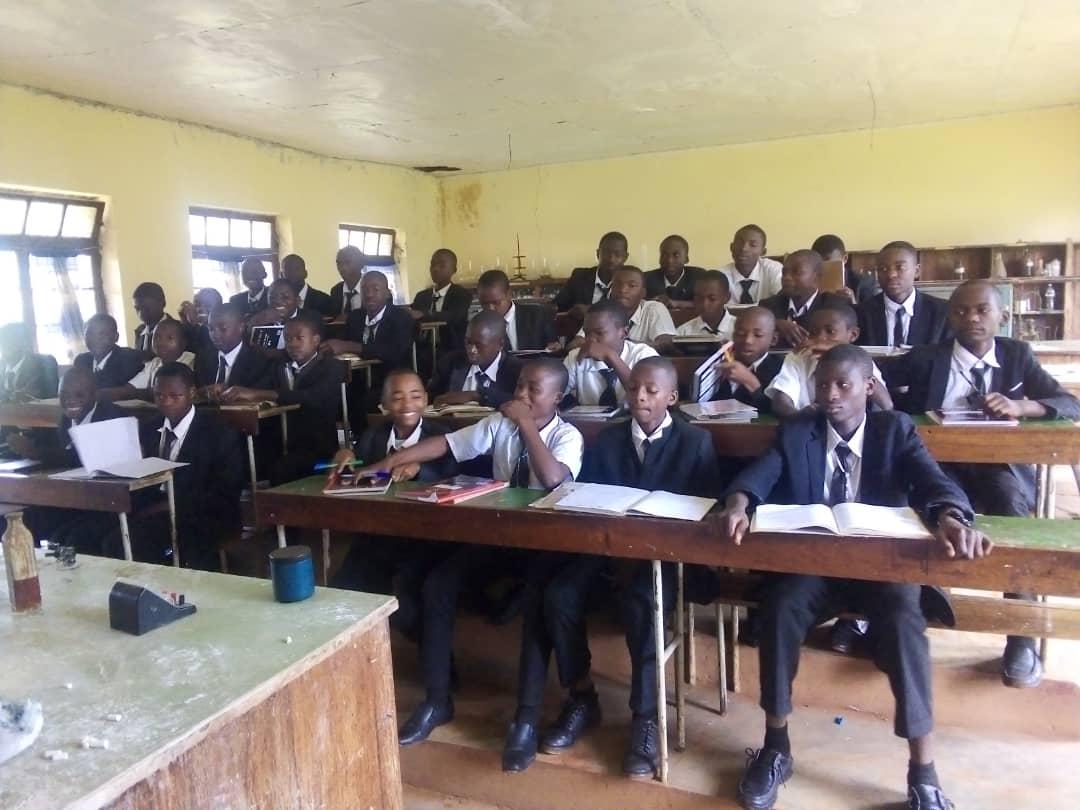 Ragazzi in classe